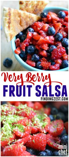 Very Berry Fruit Salsa