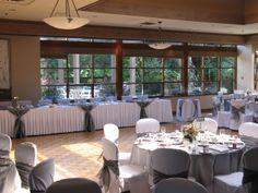 Cypress Room dance floor in front of head table