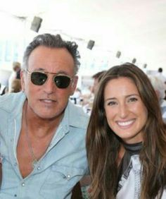 Bruce Springsteen and daughter, Jessica.