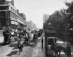 Piccadilly and Green Park.. Mayfair London c1900