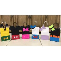 Mickey Mouse Clubhouse Party Gift Bags
