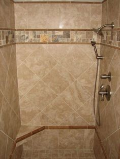 small showers for small bathrooms | Beautiful Shower Tile Patterns which You Can Use for Bathroom ...