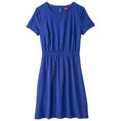 Merona® Women's Crepe Short Sleeve Dress - Assorted Prints $29.99