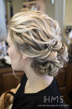 Beachy updo