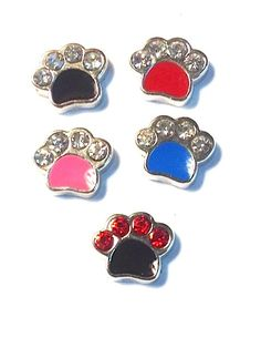 Paw Print Floating Charms Paw Floating Locket by JSueSelling, $2.00