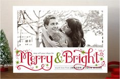 #4. Merry and Bright Sparkles by Alethea and Ruth from Seattle, WA. Announcing @Minted #Holiday2012 design challenge winners.