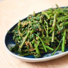 Water Spinach:  one of my favorite greens, abundant in Southeast Asia, fabulous sauteed or stir-fried in any way.