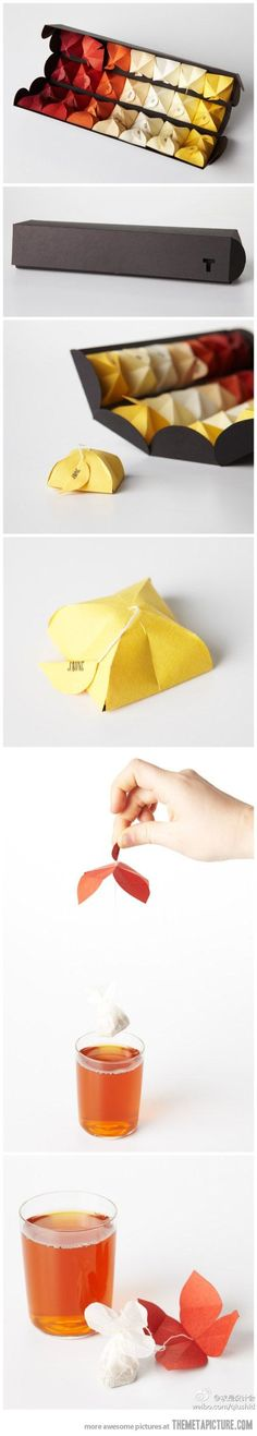 A great idea to package up great tea!