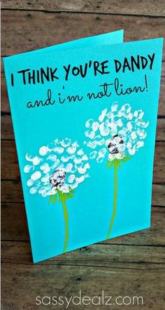 Creative Fathers Day Cards for Kids to Make - Sassy Dealz