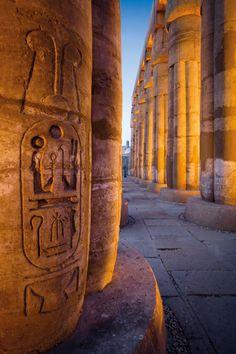 Court of Amenhotep III Amenhotep IIIs great temple of Luxor...