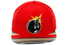 The Hundreds Adam Bomb Stripe Snapback Hat Red Hat Club, The Hundreds, Red Hats, Snapback Hats, Beanies, Cap, Future, Clothes, Collection