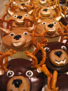 Image result for deer cupcakes