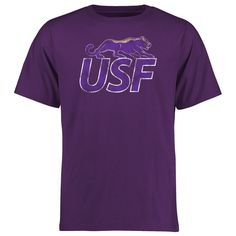 University of Sioux Falls Cougars Big & Tall Classic Primary T-Shirt - Purple