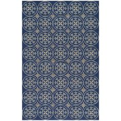 Carmel Decor - Veranda Collection Blue - Rugs by Momeni  #rug #decorate #home