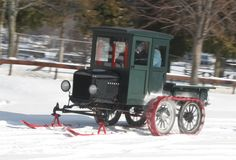 Ford model T with snow option.