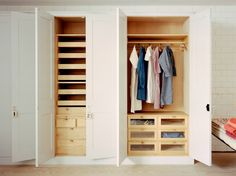 Plain English   Bespoke Handmade Bedroom Cupboards 3