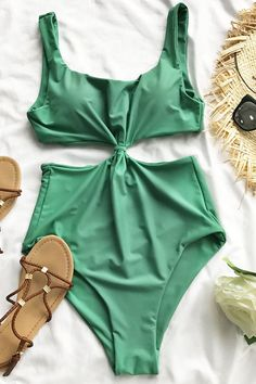 2be5b07323722 Cupshe Come With Me One-piece Swimsuit Cute Swimsuits