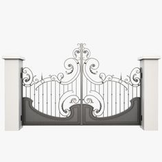 wrought iron gate max
