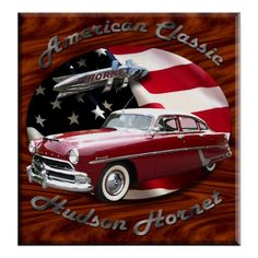 Hudson Hornet Poster - Posters of Hot-Rods & Sharp Cars - cool gift shopping