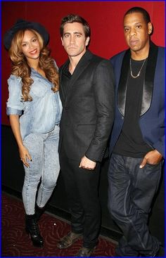 #Beyoncé And #JayZ Support #JakeGyllenhaal At New ...