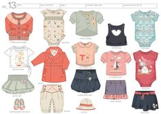 Childrenswear by Cathryn May, via Behance