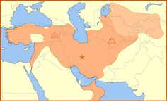 Seljuq empire at the time of its greatest extent, at the death of Malik Shah I[citation needed]