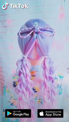 28 Latest Hair Colors for 2019 - Neue Frisuren Unique Hairstyles, Pretty Hairstyles, Braided Hairstyles, Wedding Hairstyles, Fashion Hairstyles, Braided Ponytail, Download Hair, Latest Hair Color, Hair Videos