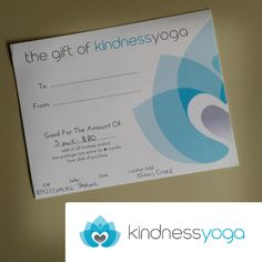 Kindness Yoga has donated a gift card for 5 yoga classes to the #bbb16 silent auction! That is truly kind of them!