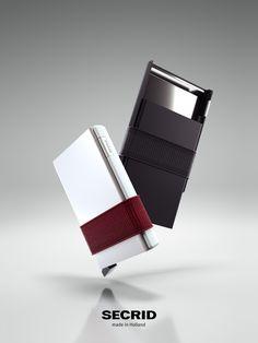 #Secrid #Cardslide in weiß und schwarz mit einem neuen Hardcase extra robust und stoßsicher.   #NEWcollection #comingsoon bald neu bei #Kontor1710