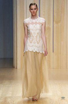 Justicia Ruano ha presentado su colección para verano 2015 en la 080 Barcelona Fashion
