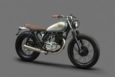 1988 Yamaha SR250 by La Corona Motorcycles