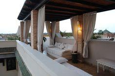 Riad Kheirredine a Marrakech Terrazzo, Outdoor Furniture, Outdoor Decor, Marrakech, Lifestyle Blog, Relax, Patio, Home Decor, Decoration Home