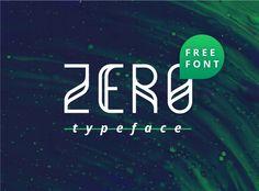 Echa un vistazo a este proyecto @Behance: \u201cZero Free Typeface\u201d https://www.behance.net/gallery/37298493/Zero-Free-Typeface