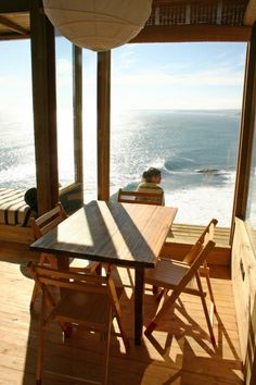 500 sf small house on cliff with water views 9   Incredible 500 square foot Small House on a Cliff with Waterview