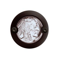 Black Classic Style Buffalo / Indian Head Nickel Horn Cover
