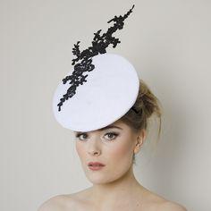 Chloe Fascinator by Carrie Jenkinson Millinery www.carriejenkinson.co.uk #fascinators #hats #headpieces