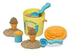 Zabawka, która zachęci Twoje dziecko do zabawy na świeżym powietrzu, na plaży lub w piaskownicy. Wybierz, i zamów lody, o jakich zawsze marzyłeś. Twój mały kelner zrealizuje zamówienie. Zestaw składa się z 2 łyżek do lodów, ozdobionych motywem konika mors