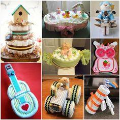 DIY Nappy Cakes
