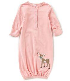 Starting Out Baby Girls Newborn-6 Months Fawn Gown #babyclothesnewborn