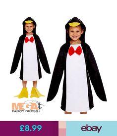 ae93b1962073 Fancy Dress Penguin Kids Fancy Dress Animal Sea Bird Boys Girls Childrens  Zoo Costume Outfit #ebay #Fashion