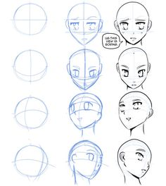How To Draw Manga (How to draw manga faces)
