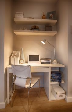 A computer nook is a beautiful addition to your home