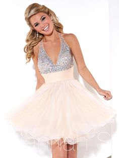 Shop homecoming dresses at PromGirl. Short dresses for homecoming hoco dresses, cute homecoming dresses, tight homecoming dresses, and trending homecoming party dresses. 2016 Homecoming Dresses, Hoco Dresses, Dresses 2016, Halter Dresses, Graduation Dresses, Cheap Dresses, Party Gowns, Party Dress, Prom Party