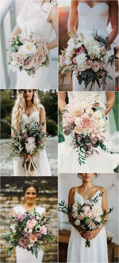 2018 trending wedding bouquets #weddingflowers #weddingbouquets #weddingideas