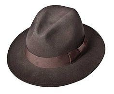 5ab2f49f6a3 Men - Cowboy Hats · Indiana Jones Ij552 Crushable Water Repellent Mens Wool  Felt Safari LargeBrown552     Want to