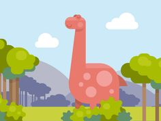 A part of story for RingCentral video, where a young dinosaur prefers eating devices instead of plants.    Appreciate this cutie!