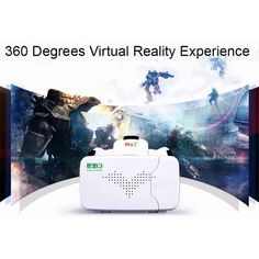 RITECH III VR Virtual Reality 3D Glasses Headset Oculus Rift Head Mount Cardboard for 3.5''-6'' Phone