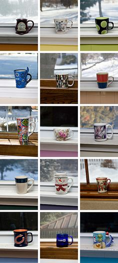 Typology - Mugs Narrative Photography, A Level Photography, Object Photography, Photography Themes, Photography Camera, Photography Projects, Still Life Photography, Portrait Photography, Sequence Photography
