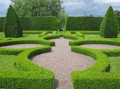 Formal Garden, Little Moreton Hall by John of Witney, via Flickr