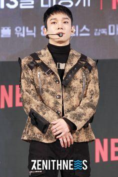 "191202 Underground"" Netflix fan event with EXO Exo Chen, Exo K, Angel Chen, Kim Jong Dae, Korean Name, Green Carpet, Chanyeol, Boy Bands"
